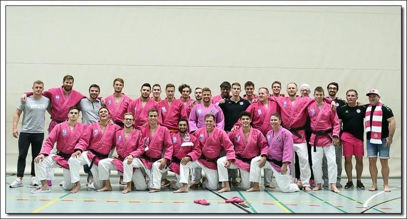 """""""Wir gewinnen als Mannschaft, wir verlieren als Mannschaft"""" – mit Zusammenhalt in die 1. Judo-Bundesliga"""